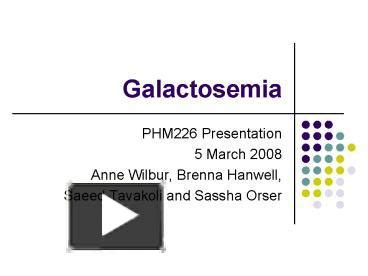 ppt perfumes powerpoint presentation free to view id ppt galactosemia powerpoint presentation free to view