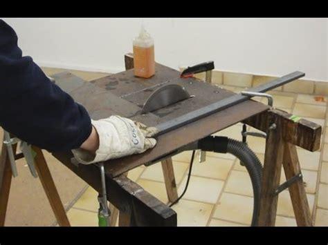Diy Metal Cutting Table Saw Kickback