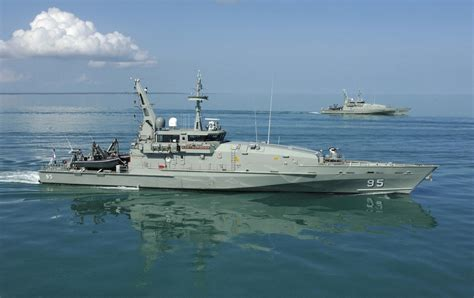 navy patrol boats naval analyses armidale class patrol boats of the royal