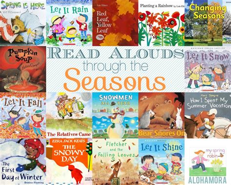 a season in my books alohamora open a book read alouds though the seasons for