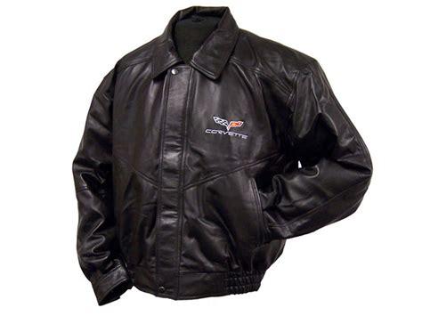 corvette c6 lambskin leather bomber jacket ebay