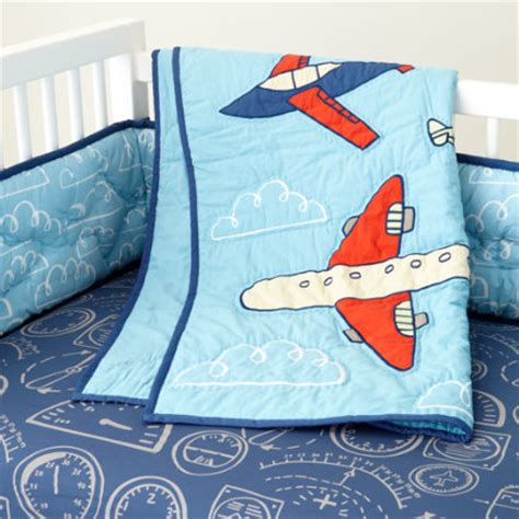 Airplane Baby Crib Bedding Crib Bedding Room Decor