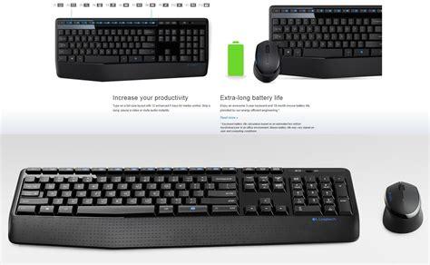 aa warranty reviews logitech mk345 wireless combo keyboard mouse umart au
