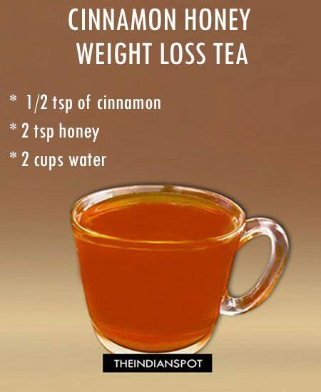 Honey And Cinnamon Detox Tea by Best 25 Weight Loss Tea Ideas On 10