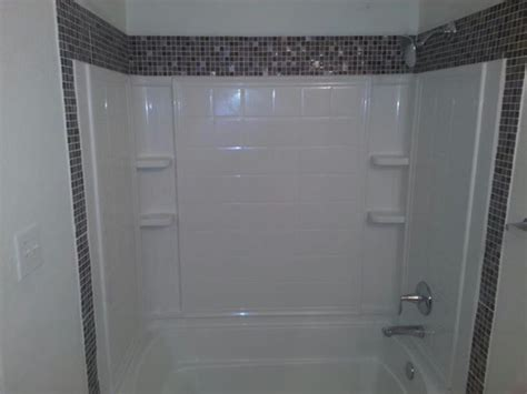 tile trim around bathtub tile trim around shower for the home pinterest