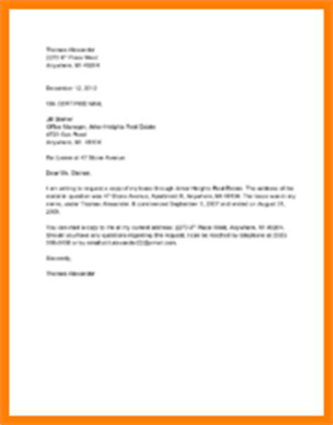 Request For Lease Agreement Letter 8 Financial Aid Request Letter Sle Quote Templates