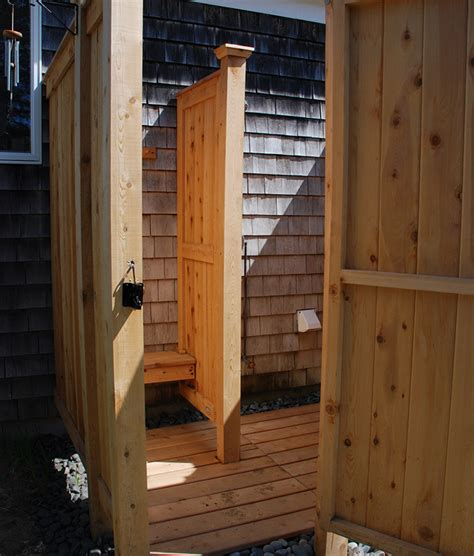 outdoor shower kits outdoor shower kit designs cedar kit ny nj