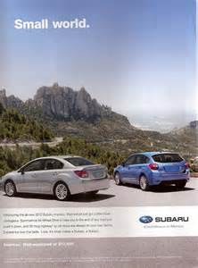 Subaru Ad Subaru Advertising Photographs Page 4