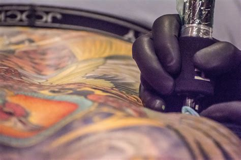 tattoo artist inked hearts a photo essay by larson news