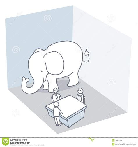 in the room elephant in the room royalty free stock photos image 38482958