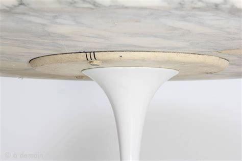 dining table  tulip base designed  eero saarinen ed knoll   stdibs