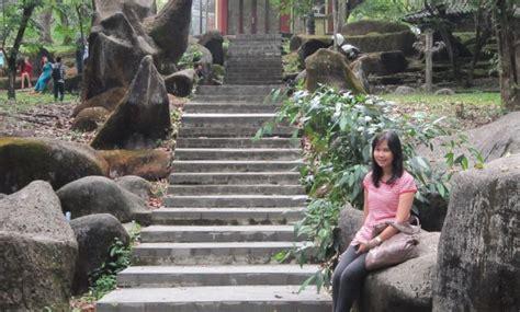 gambar taman purbakala kerajaan sriwijaya palembang
