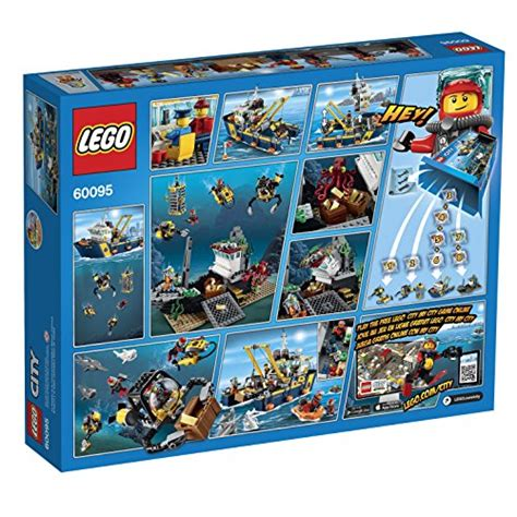 lego boat deep sea lego city deep sea explorers 60095 exploration vessel