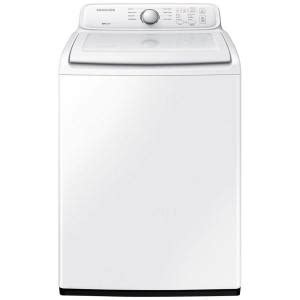 washing machine home depot samsung 4 0 cu ft top load washer in white wa40j3000aw the home depot