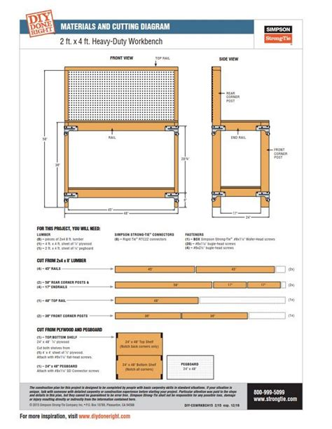 simpson strong tie bench kit save 7 simpson strong tie wbsk workbench and shelving hardware kit