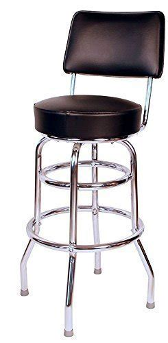 ring commercial black 30 inch bar stool with back
