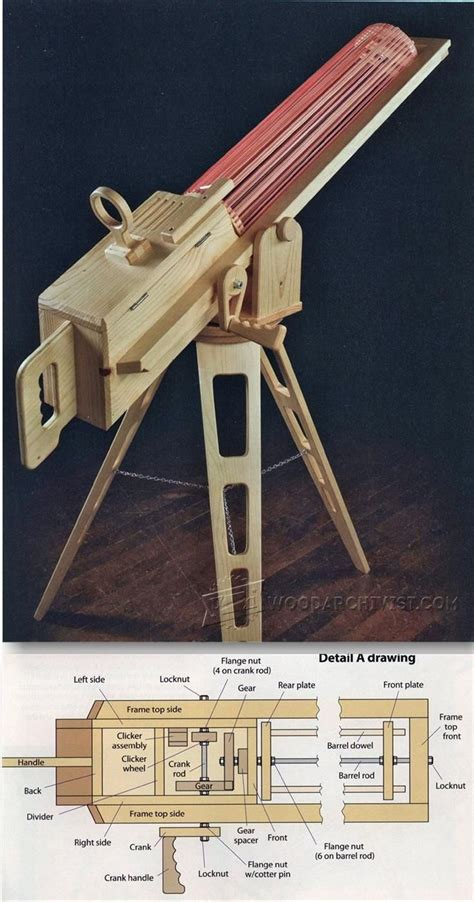 woodworking ideas and plans rapid rubber band gun children s woodworking plans