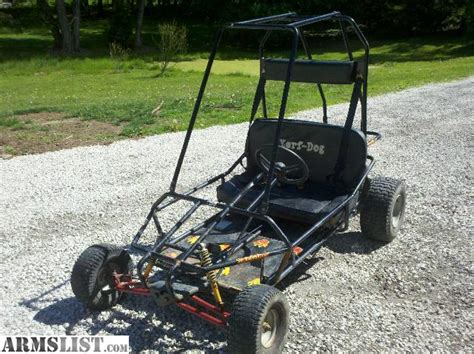 yerf go kart for sale armslist for sale trade yerf go cart 2 seater 5hp susupension