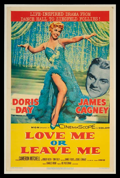 film love me or leave me musical posters fff movie poster museum