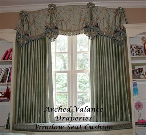 Flat Window Valance Flat Valance With Tails Draperies Eclectic Other