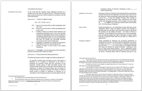 simple term sheet template 28 images interesting