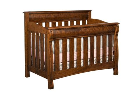 Amish Baby Cribs Amish Castlebury Convertible Crib