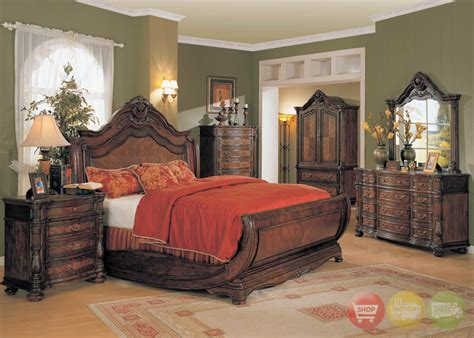 marble top furniture bedroom jasper traditional bedroom furniture sleigh bed marble