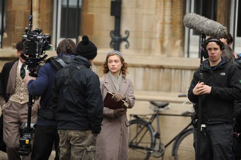 sophie cookson life sophie cookson filming red joan filming in cambridge