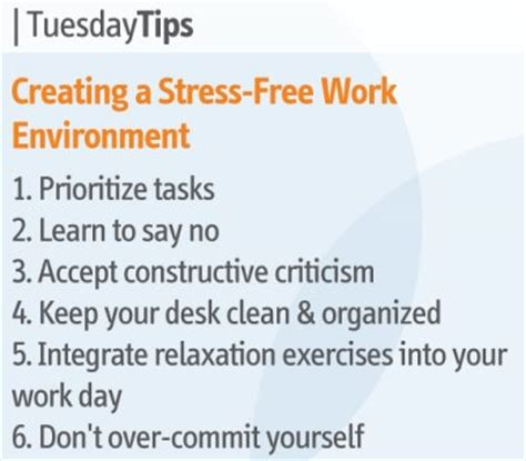 to do list formula a stress free guide tuesday tips creating a stress free work environment daily inspirations for healthy living