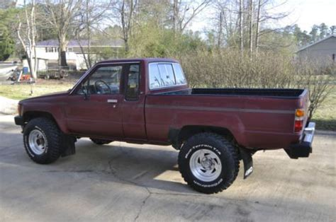 1988 Toyota Automatic Transmission Sell Used 1988 Toyota Sr5 Extended Cab With 157600