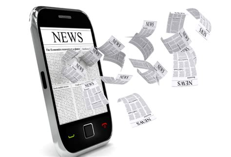 Search News News And Media To Deliver The News In The Search Agency S New Mobile