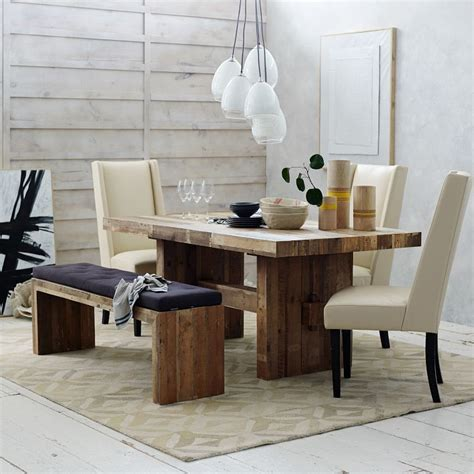 emmerson dining table west elm emmerson reclaimed wood dining table