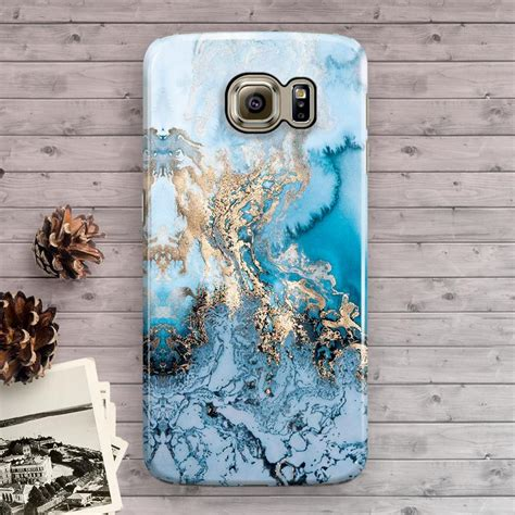 Pattern Blue 0181 Hardcase 3d Print For Samsung Galaxy A5 20 new blue gold marble pattern galaxy s3 s4 s5 s6 s6 edge s6