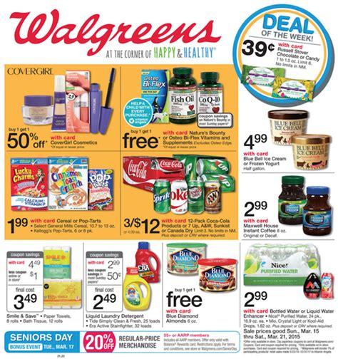 Walgreens Ad Circular March 15   21, 2015   Weekly Ads