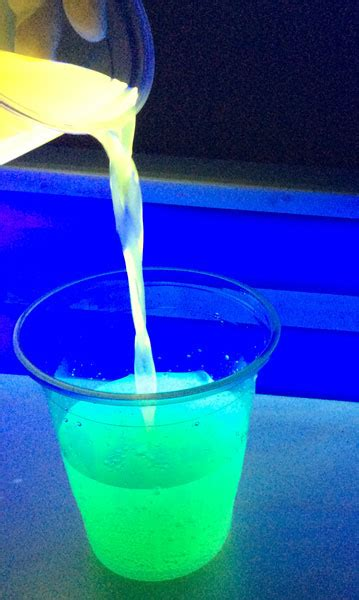 vodka tonic blacklight it all must glow even the food canadian museum of