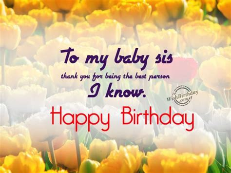 Happy Birthday Wishes To My From Birthday Wishes For Sister Birthday Images Pictures