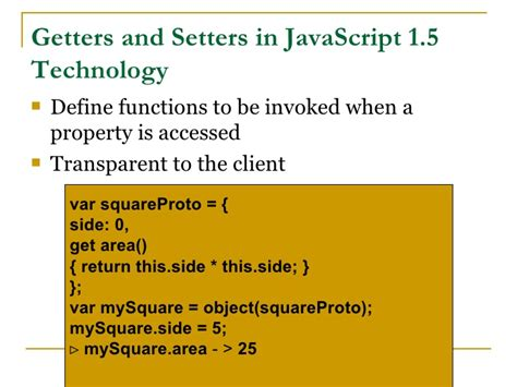 setter is defined without getter javascript misunderstood