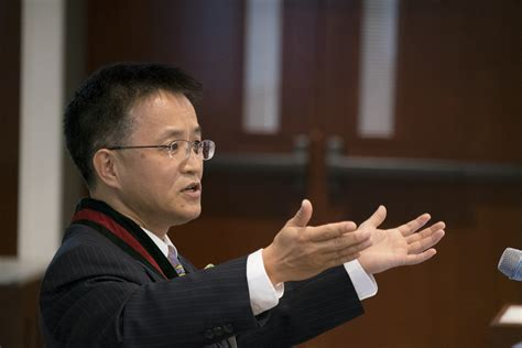 Liu Mba Admissions by Liu Installed As Fossett Distinguished Professor The