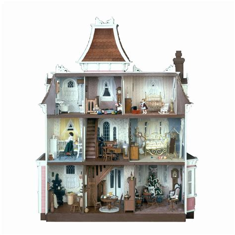 dollhouse 1 inch scale greenleaf beacon hill dollhouse kit 1 inch scale ebay