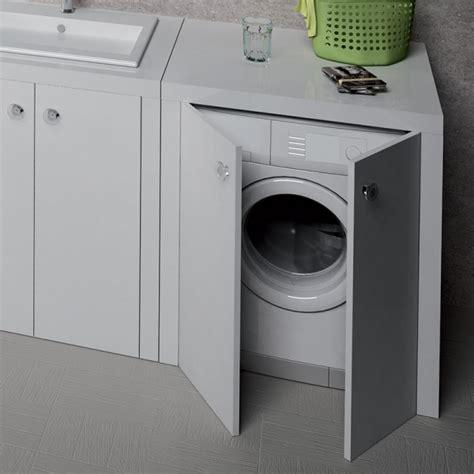 mobile porta lavatrice mobile lavanderia trend porta lavatrice con ante
