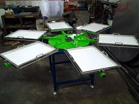 Meja Cetak Baju Meja Cetak Baju Silkscreen Printing Table