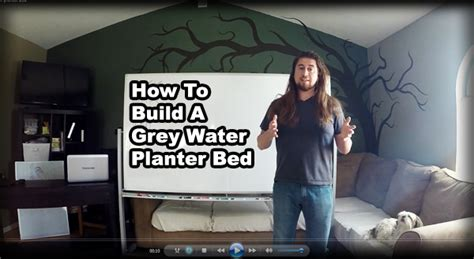 how to build a day bed permaculture tip of the day how to build a grey water