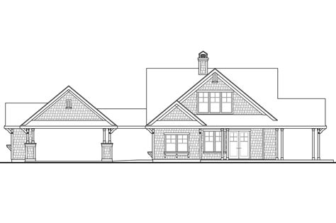 one story lake house plans houzz one story shingle style lake home studio design gallery best design