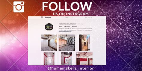 home makers latest instagram page  home makers