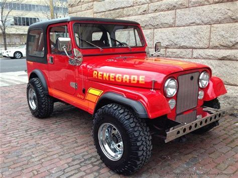 classic jeep renegade 1984 jeep cj 7 1984 jeep cj7 for sale 1984 jeep cj7