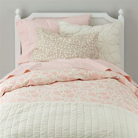 pink bedding sheets girls bedding sheets duvets pillows the land of nod
