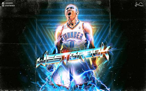 facebook themes nba russell westbrook retro nba wallpaper by skythlee on