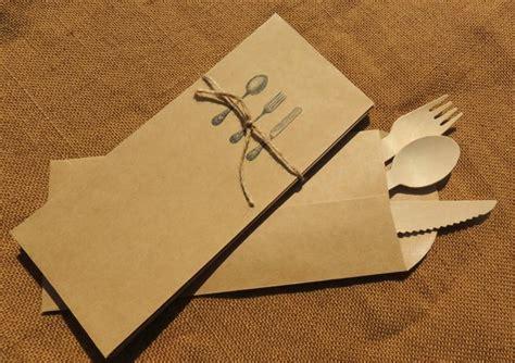 Modern Silverware by Kraft Silverware Envelope Flatware Sack Cutlery Bag Pouch