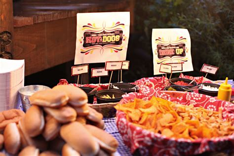 hot bar themes hot dog bar party ideas pinterest