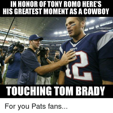 You Heard It Here The Tony Romo And Story Continues by In Honor Of Tony Romo Here S His Greatestmomentasacowboy A